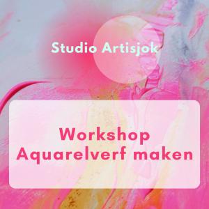 Workshop Aquarelverf maken // 25 September 2021